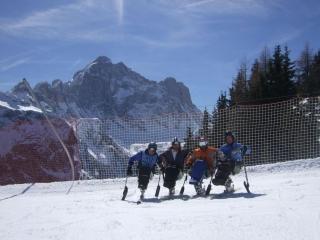 Campionati Italiani Disabili Sci Alpino - Alleghe - Belluno - 26-27 marzo 2011