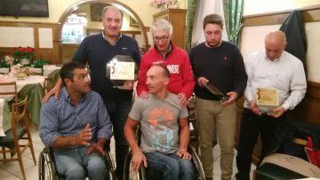 Cena consegna Targa 4° tappa Alpini Roccaraso