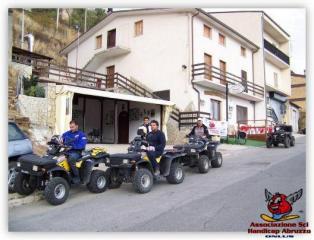Manifestazione QUAD Sui Monti degli Altopiani Maggiori d'Abruzzo - ottobre 2007