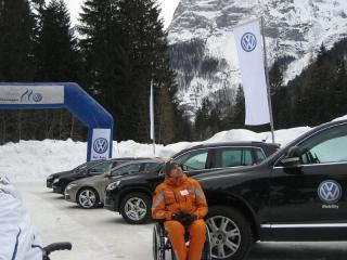 """Volkswagen Mobility - """"Corsi Neve e Ghiaccio"""" martedì 17 febbraio 2009 sulla pista """"Auronzo Icekart"""" ad Auronzo di Cadore"""