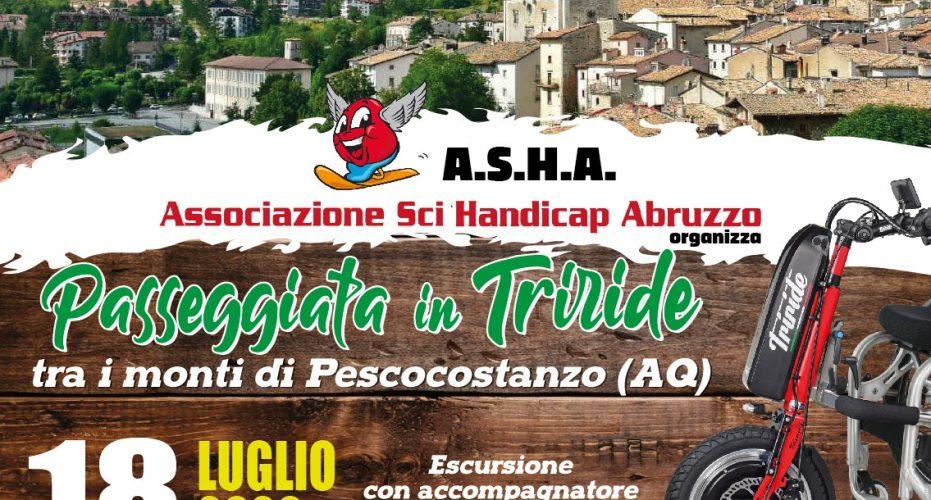 Passeggiata in Triride – 18 Luglio 2020 a Pescocostanzo (AQ)