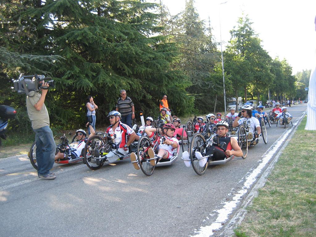 HandBike – Giro d'Italia Tappa a Roccaraso