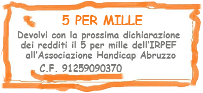 5 per mille IRPEF - Associazione Sci Handicap Abruzzo