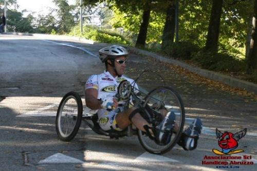 Evento Hand Bike - Castel di Sangro 9 luglio 2011