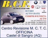 Logo BCF Auto Center - Officina Castel di Sangro
